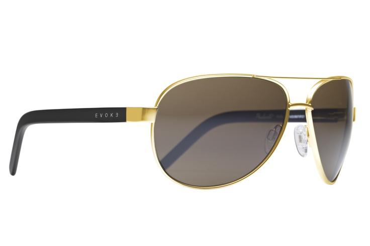 Poncherello Classic Gold Monel. Estilo clássico aviador com hastes douradas. Feito à mão na Itália. / Poncherello Classic Gold Monel. Classic aviator style with golden stalks. Handmade in Italy. http://ow.ly/aVOur