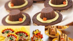 Impress your family with these delicious Thanksgiving cookies. Click here to go to MyGames4Girls.com!