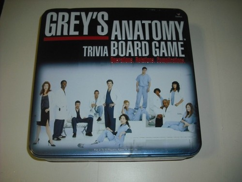 Greys Anatomy trivia board game