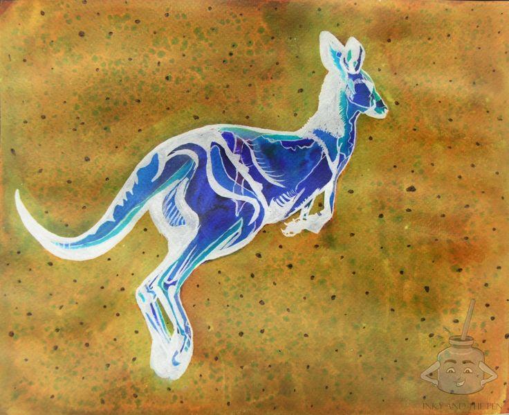 Week 3: Australiana – Inky and the Pen