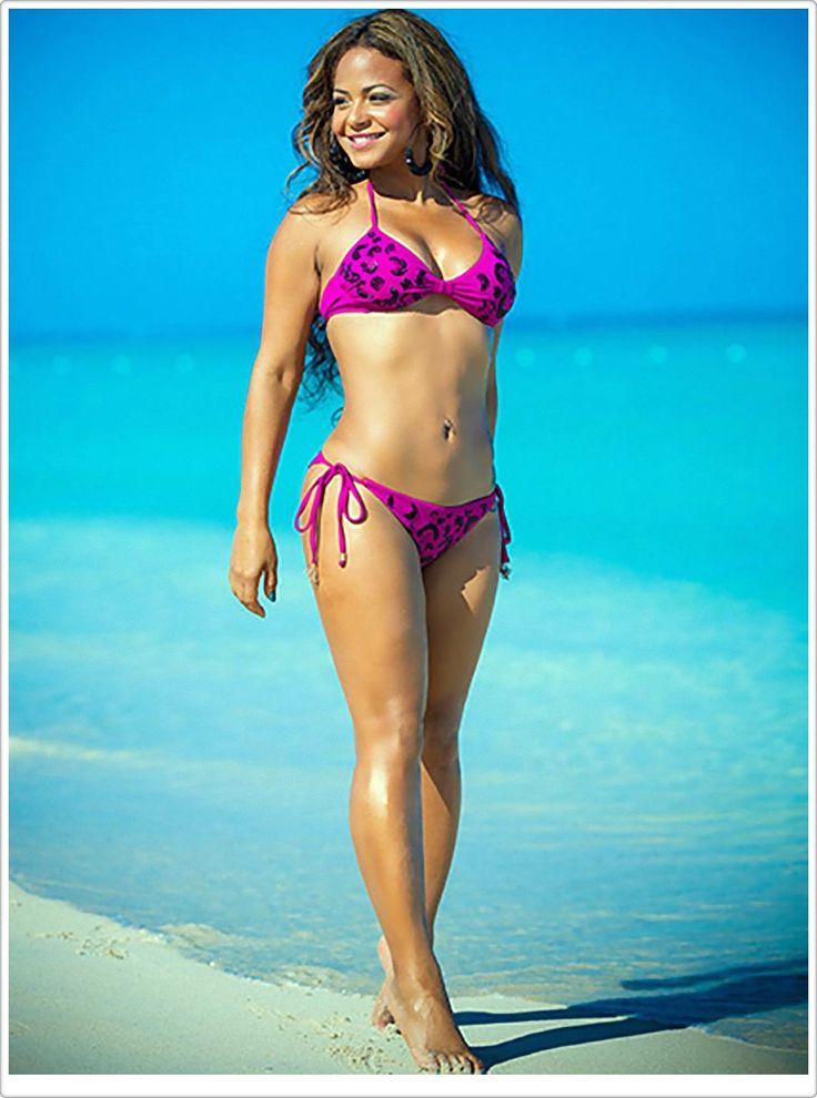 Christina Milian lovely body and beauty, the best in the world. Seaward Collection