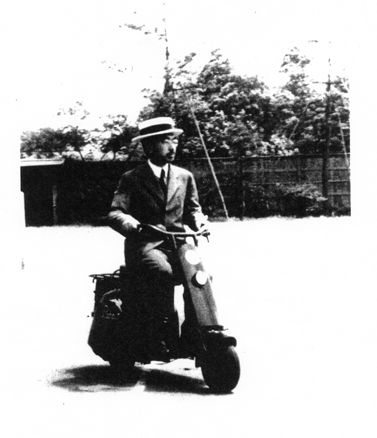 Emperor Hirohito on a very early Rabbit indeed