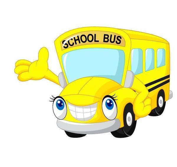 Cartone Animato Scuola Bus Vettore Download Gratuito Eps