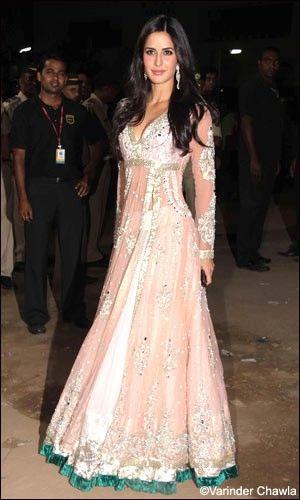 Manish Malhotra dressed Katrina Kaif, a famous Bollywood Actress.