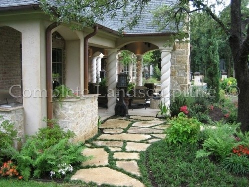 walkwayPhotos Gallery, Oklahoma Cities, Nature Gardens, Dallas, Outdoor Living Spaces, Complete Landsculptur, Pathways, Porches, Landscapes
