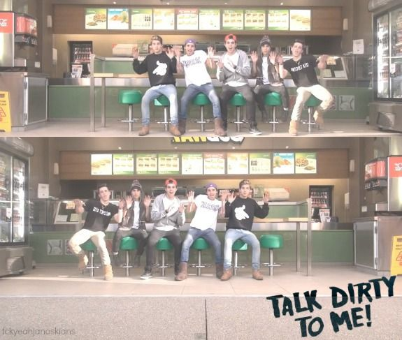 Talk Dirty To Me - The Janoskians :)