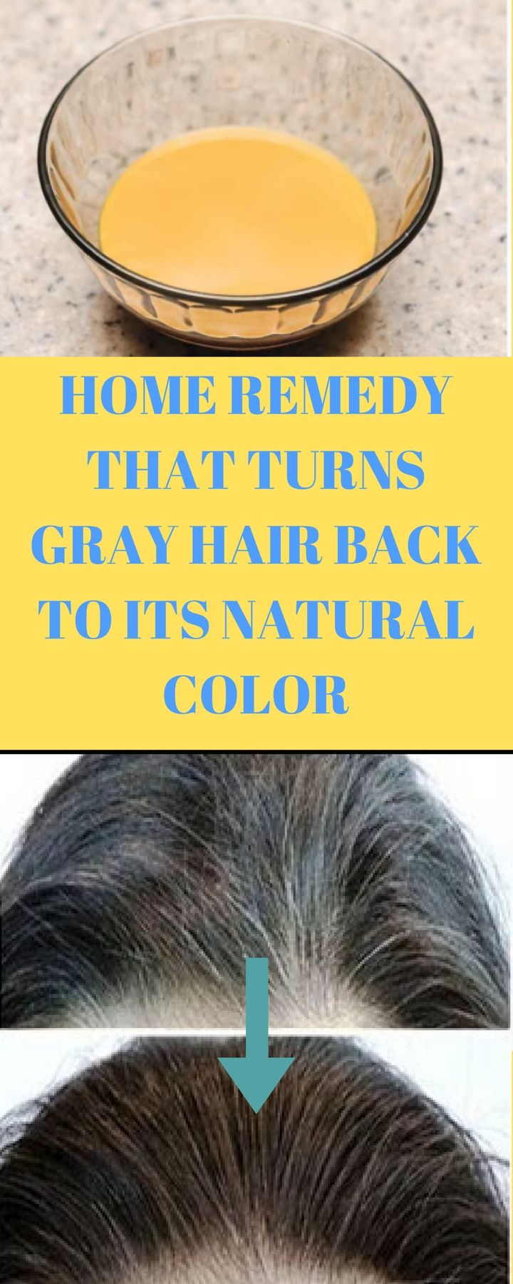 HOME REMEDY: COCONUT OIL AND LEMON MIXTURE WILL TURNS GRAY HAIR BACK ...
