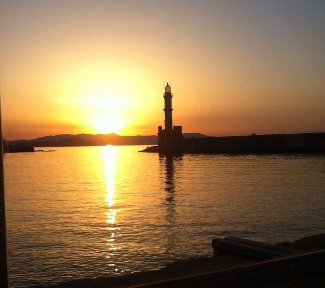 Chania_sunset