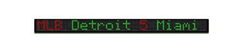 Fantasy Sportsticker 26-Inch LED Sign with Live Content, Displays Stats, Scores, Odds, Breaking News and Major Sports Coverage -- Click image to review more details.
