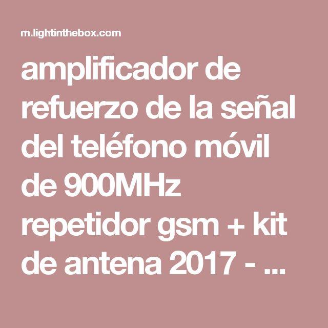 amplificador de refuerzo de la señal del teléfono móvil de 900MHz repetidor gsm + kit de antena 2017 - R$134.02
