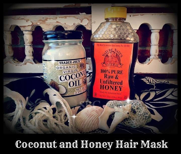 Honey and Coconut Hair Mask ★★★
