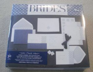 Amazon.com: BRIDES ; A WEDDING COLLECTION FROM THE EDITORS OF BRIDES  MAGAZINE;. Invitation KitsArts ...