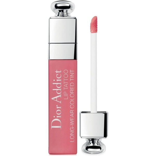 Dior Dior Addict Lip Tattoo Colored Tint ($30) ❤ liked on Polyvore featuring beauty products, makeup, lip makeup, natural nude, christian dior cosmetics, christian dior makeup and christian dior