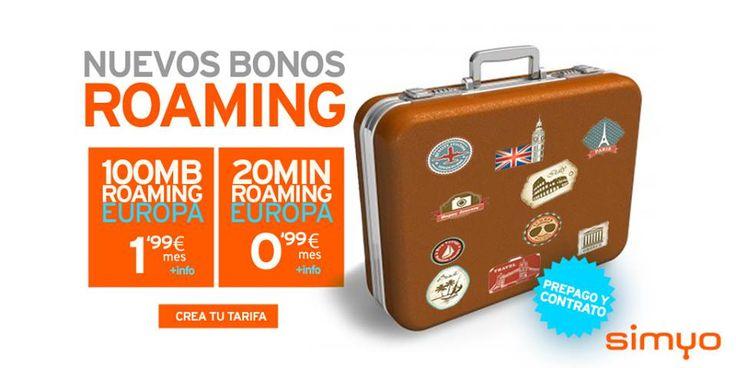 Con la próxima entrada del periodo vacacional, en Simyo han decidido ofrecer sus bonos roaming Europa para comunicarte y navegar.