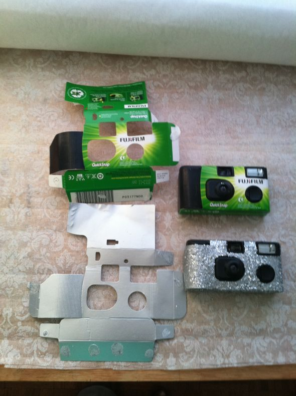 Disposible camera makeover | Weddingbee Photo Gallery Each guest gets a disposable