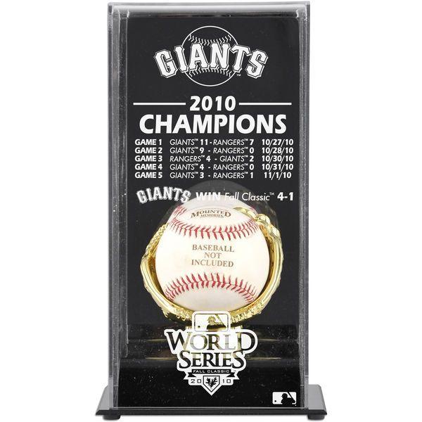 San Francisco Giants Fanatics Authentic 2010 World Series Champions Baseball Display Case - $49.99