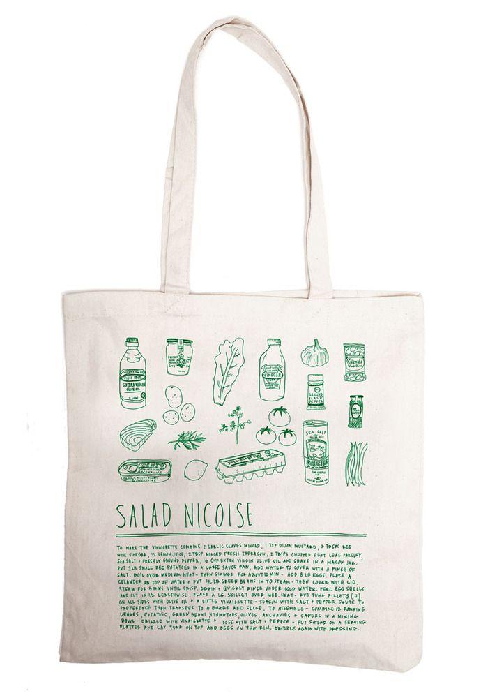 salad nicoise - grocery bag