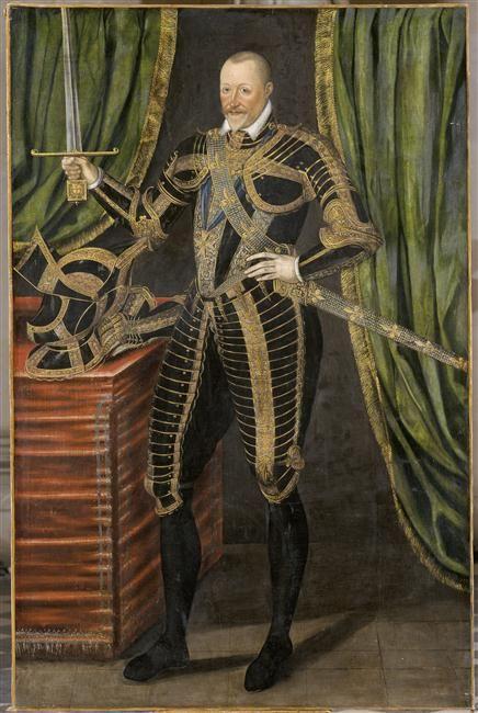 Portrait de Henri Ier, duc de Montmorency, connétable de France en 1593, portant les attributs de connétable