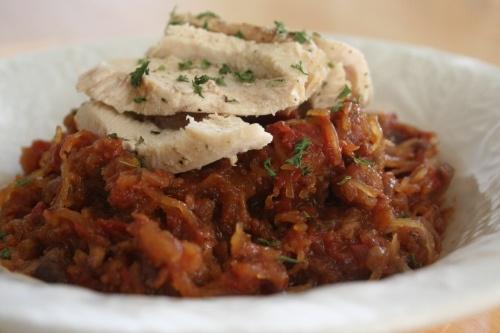 ... sauce & sauteed chicken breast | Savory | Pinterest | Marinara Sauce