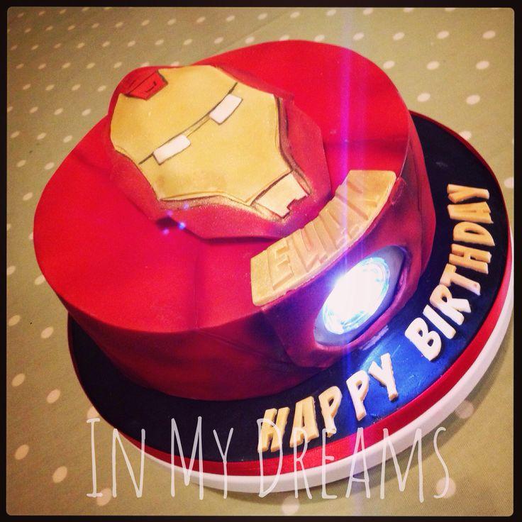 Iron Man Birthday Cake Pictures