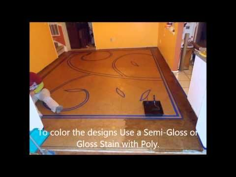 ▶ DIY - How to make your own designer brown paper bag floor with super awesome designs on it!! - YouTube