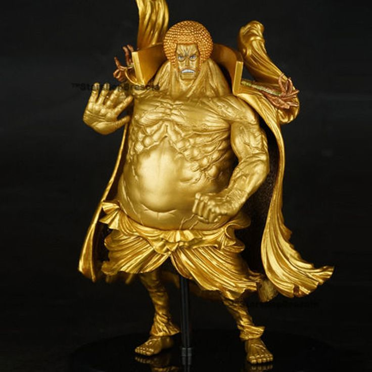 Anime One Piece Brinquedos Meninos One Piece Fire Warring States Buddha 17cm PVC Action Figure Collectible