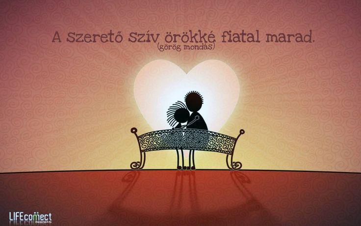 Görög mondás a szeretetről. A kép forrása: LIFEconnect