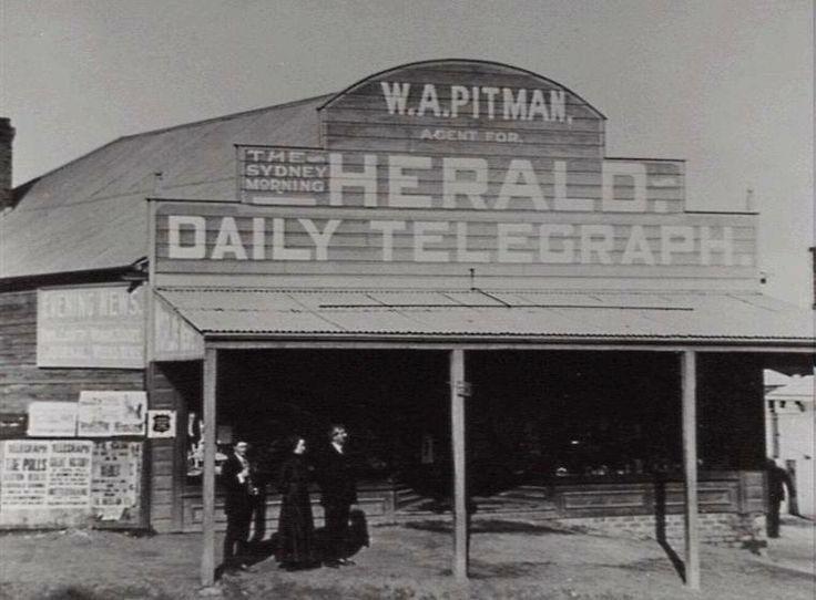 Woonona Newsagents, South Coast NSW v@e