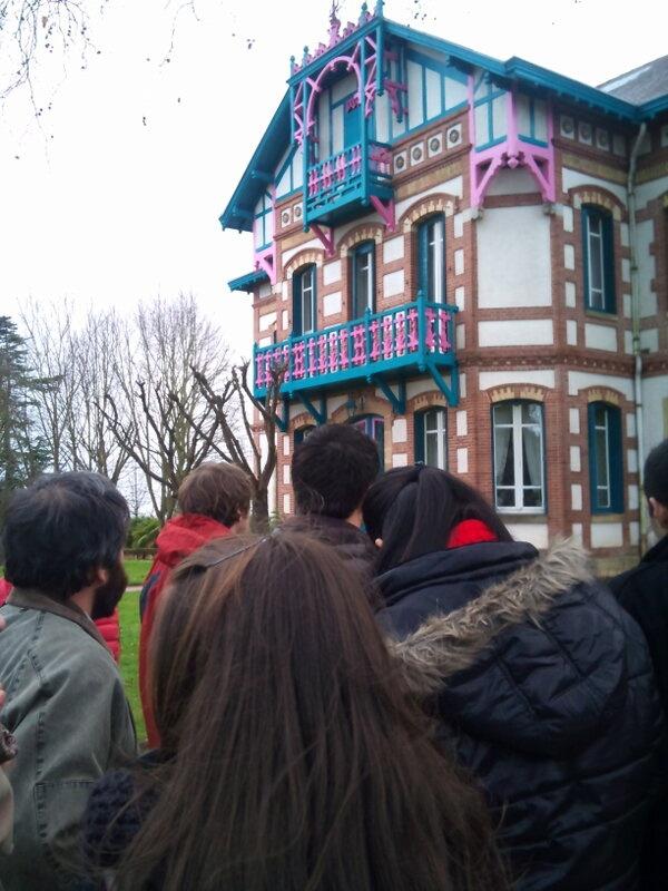 Visite au Château de Laubade  http://www.chateaudelaubade.com/