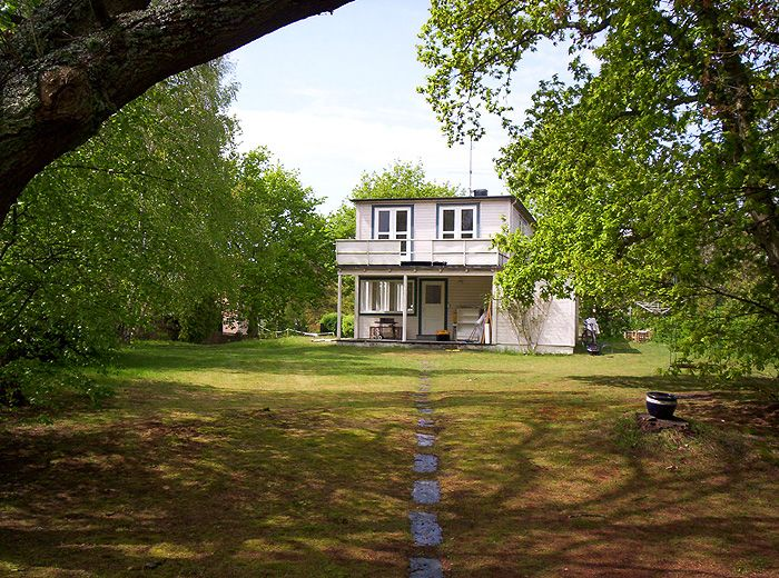 Josef Frank's Summer house in Falsterbo.