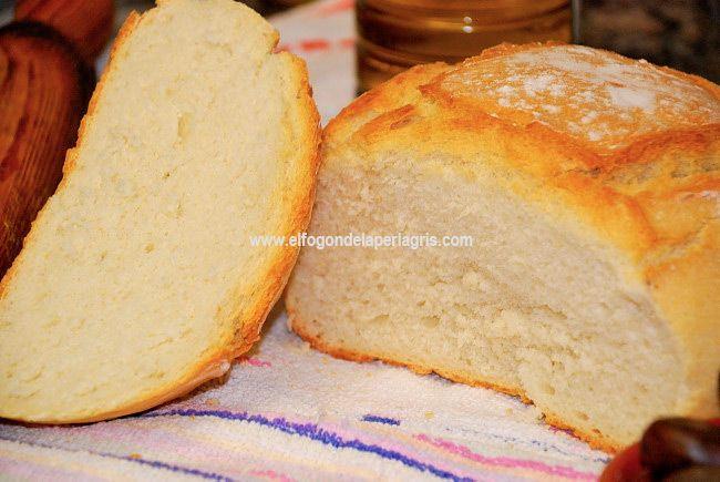 Os dejo la receta para preparar pan blanco casero  de la manera más fácil y sencilla. Si nunca lo habías hecho en casa, es una buena ocas...