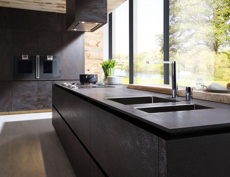 ALNO Cera oxide nero kitchen