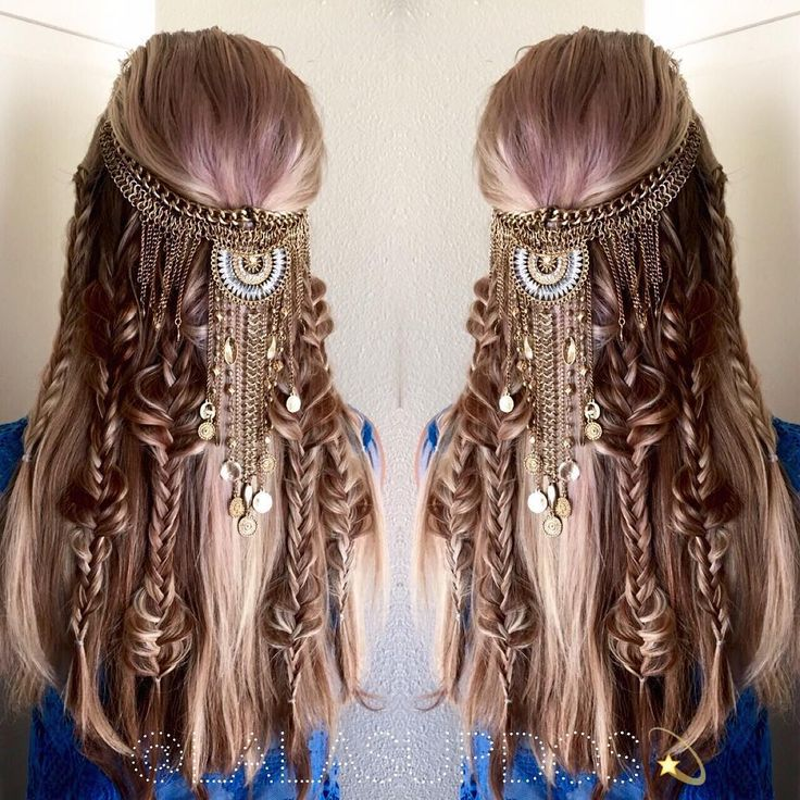 25 beautiful fantasy hairstyles ideas on pinterest fantasy hair fyhaircolors boho hair by by hair stylist laura kaszoni httpsinstagram ccuart Image collections