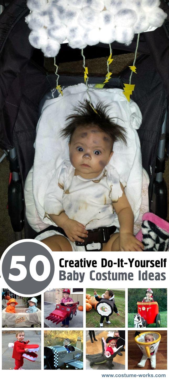 OMG  50 Creative DIY Baby Costume Ideas