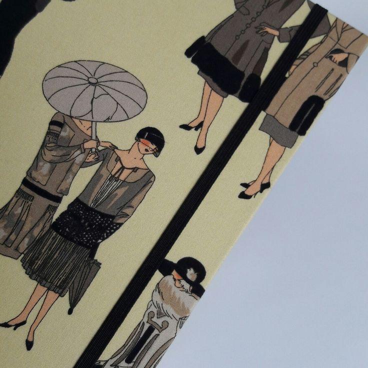 "Notizbuch ""1920s Glamour""  www.notecouture.de"
