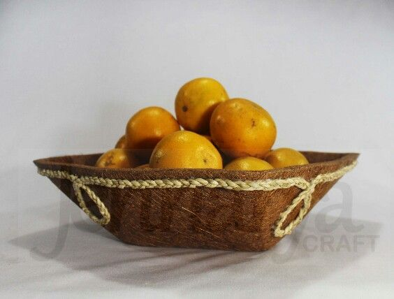 Fruit Bowl. Hand made from cocofiber.