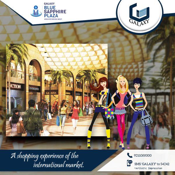 The Bangkok bazaar in #GalaxyBlueSapphire will give you the international shopping experience.#TheGalaxyGroup #GalaxyShoppe #GalaxyNorthAvenueII #LuxuriousResidential
