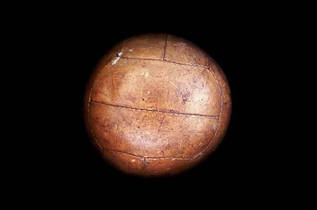 Balón utilizado en el mundial de fútbol Italia 1934