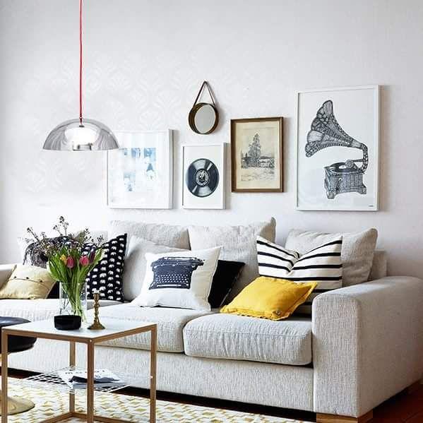Ambientacion moderna y calida living moderno pinterest for Ambientacion living comedor