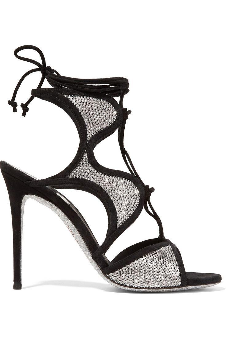 Rene Caovilla Crystal Sandals