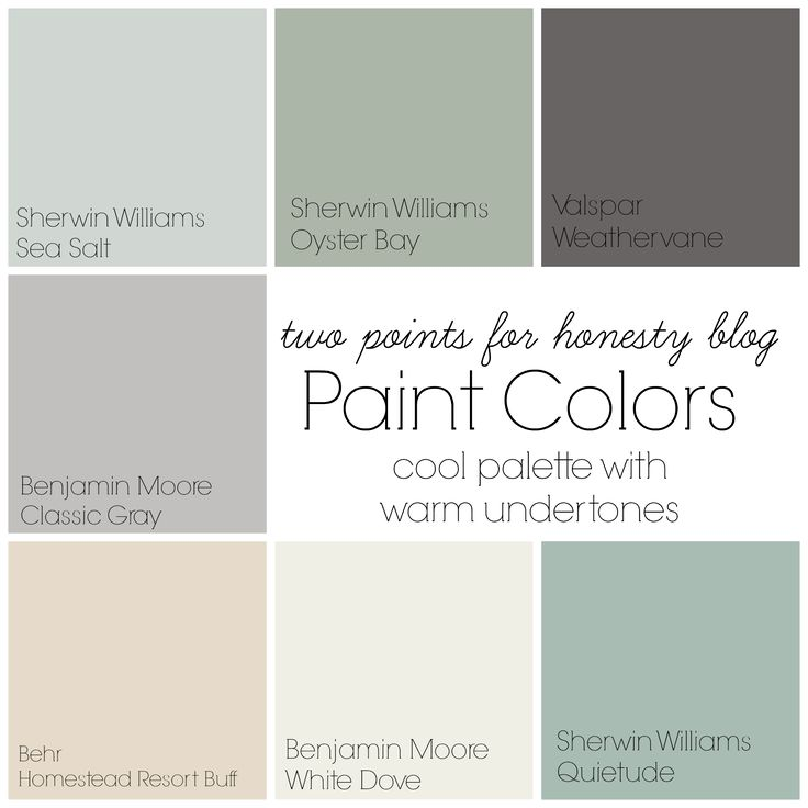 Marvelous Two Points For Honesty: Whole House Paint Palette