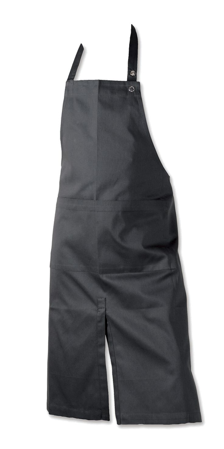 The Organic Company Long Apron : Designed to meet a lot of needs while working. The apron comes with a wide pocket, adjustable neck strap and slit to make work easier. Designed by Joy Vasiljev.