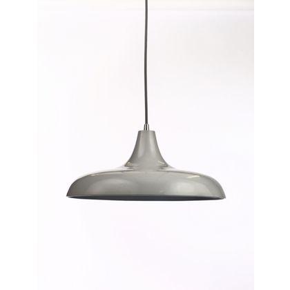 Satin Diner Pendant Ceiling Light - Grey