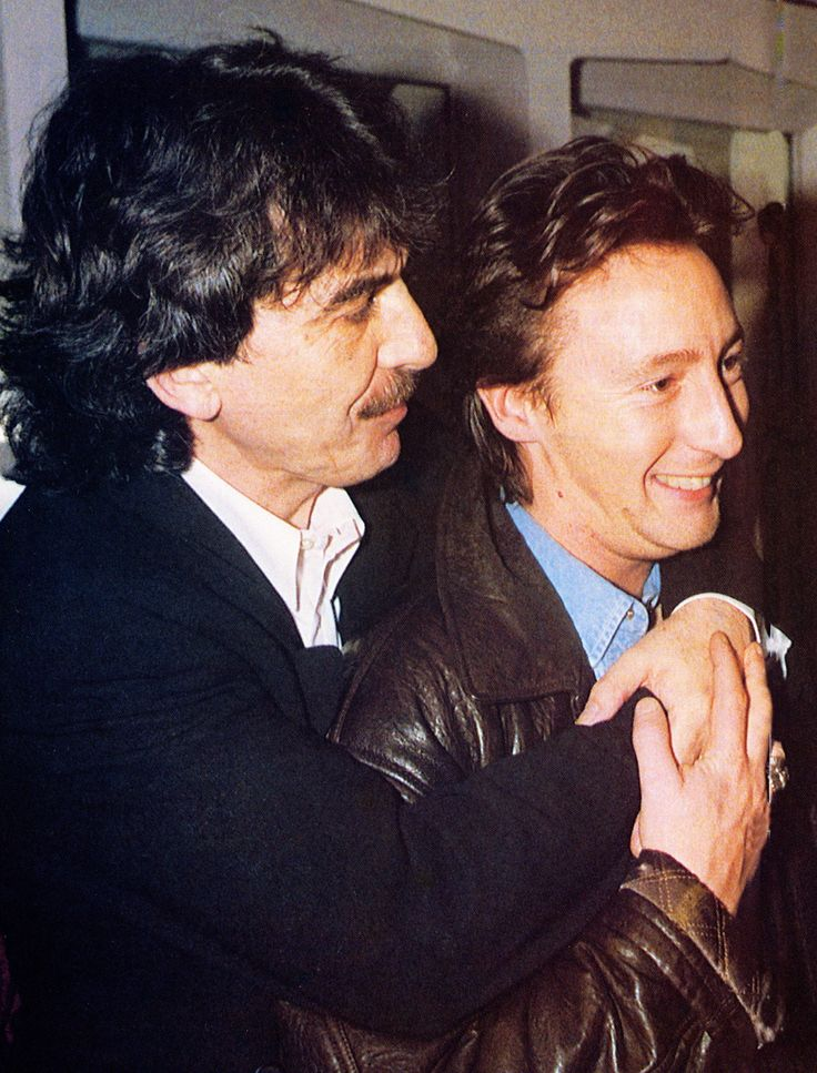"""George was always a sweetheart to me. Loved him dearly, I miss him dearly."" -Julian Lennon (September 2013)"