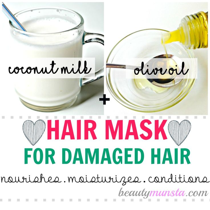 In Asia, coconut milk is one well-kept beauty secret for silky hair. Choose from these three delicious coconut milk hair mask recipes for longer and silkier hair!