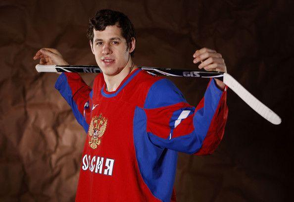 Pittsburgh Penguins Olympic Player Photo Shoot (Evgeni Malkin)