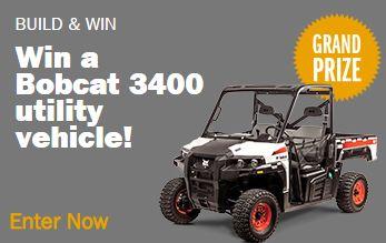 Miller Welders - Win a Bobcat 3400 Utility Vehicle - http://sweepstakesden.com/miller-welders-win-a-bobcat-3400-utility-vehicle/