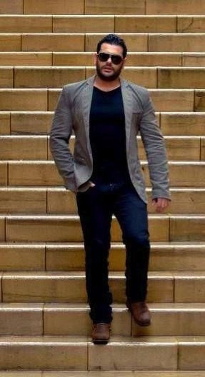 Plus size big and tall mens fashion outfit style ideas 9