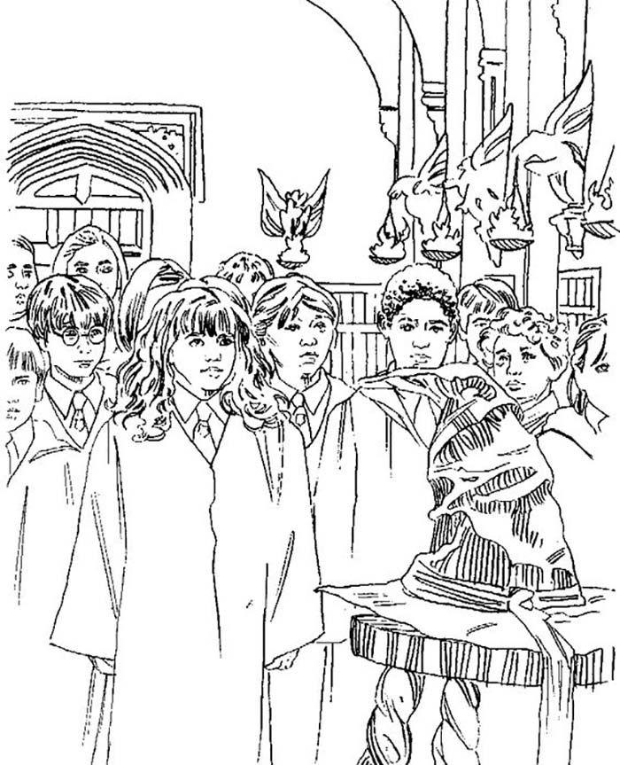Coloriages à imprimer Harry Potter | Coloriage harry ...