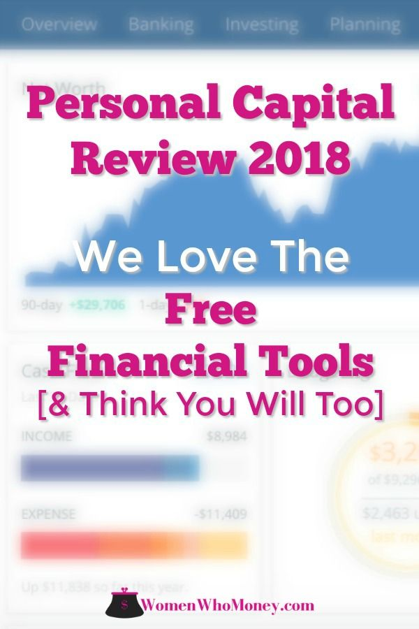 Personal Capital Review 2019 The Best Free Financial Tools